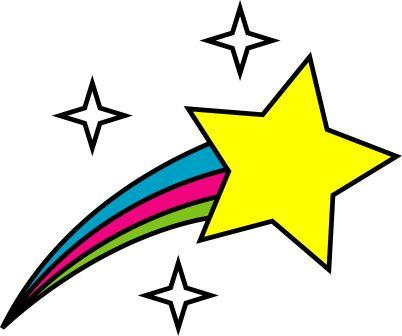 clipart-star-outer space symbol shooting star